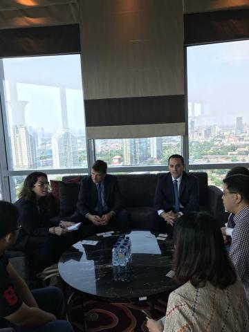 Embassy in Indonesia | Trip to Indonesia by the Manager of